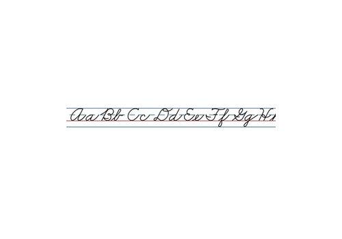 Carson Dellosa Cursive Alphabet (Traditional) Desk Tapes *