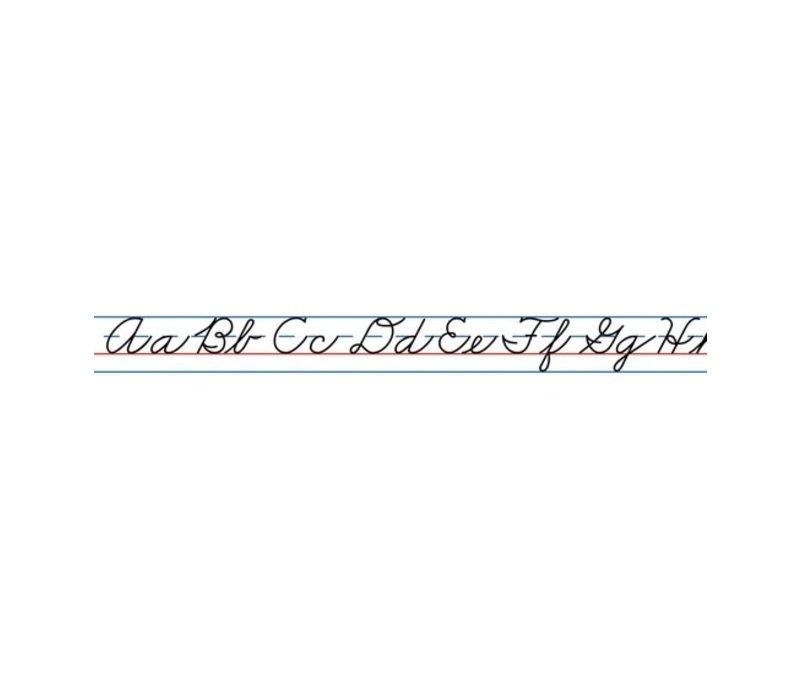 Cursive Alphabet (Traditional) Desk Tapes *
