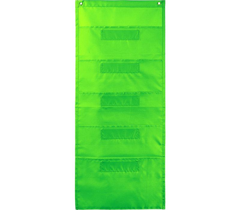 File Folder Storage Pockets, Lime