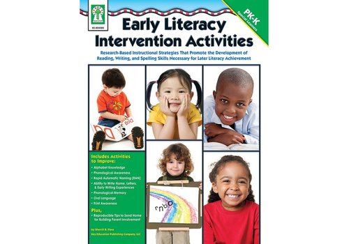 Carson Dellosa Early Literacy Intervention Activities PK-K * (D)