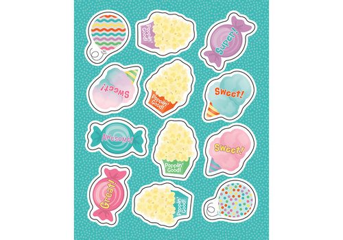 Carson Dellosa Treats Shape Stickers *
