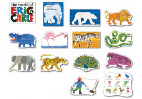 Carson Dellosa Polar Bear, Polar Bear, What do You Hear? Bulletin Board Set