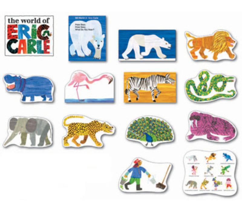 Polar Bear, Polar Bear, What do You Hear? Bulletin Board Set