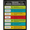 Carson Dellosa Things Good Readers Do Poster