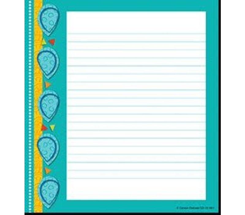 Teal Appeal Notepad