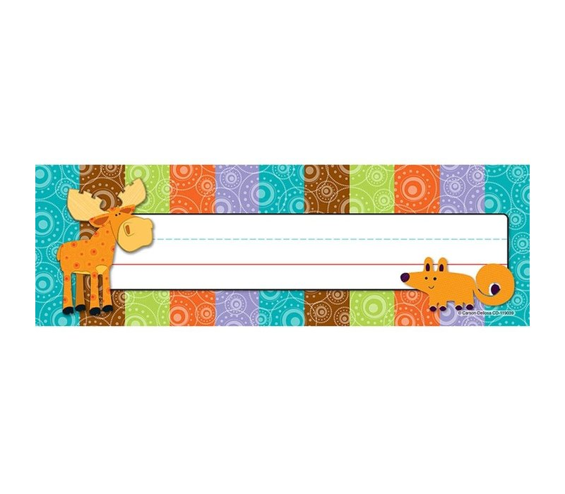 Moose & Friends Nameplates
