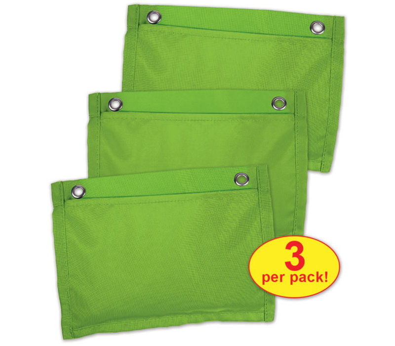 Board Buddies Magnetic Pockets - Lime