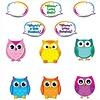 Carson Dellosa Colorful Owl Talkers Bulletin Board Set