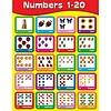Carson Dellosa Numbers 1-20 Chart*