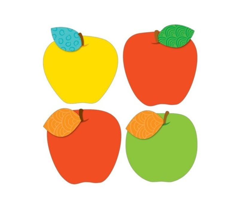 Apples Cut-Outs, 6""