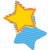 Carson Dellosa Stars Mini Cut-Outs