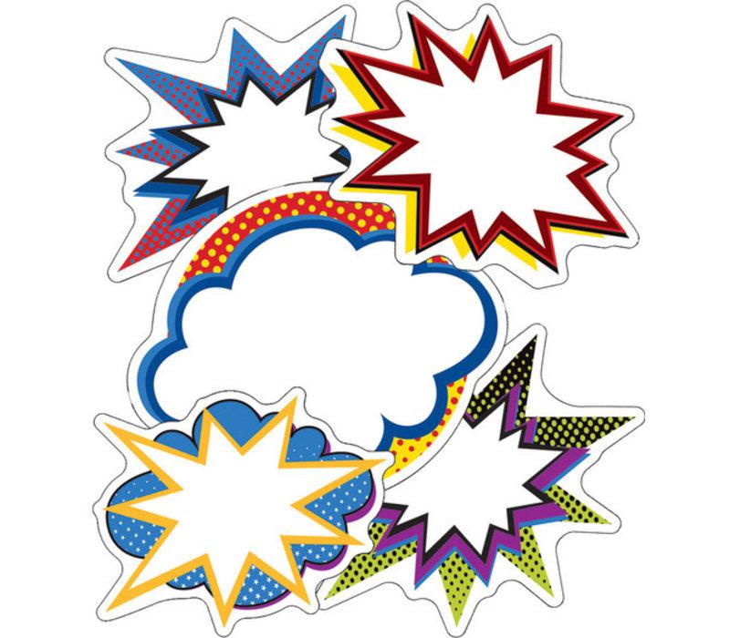 Super Power Bursts Cut-Outs *