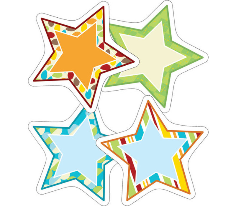 Hipster Stars Cut-Outs *(D)