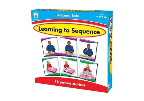 Carson Dellosa Learning to Sequence 3-Scene *