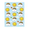 Carson Dellosa Suns & Rainbows Shape Stickers