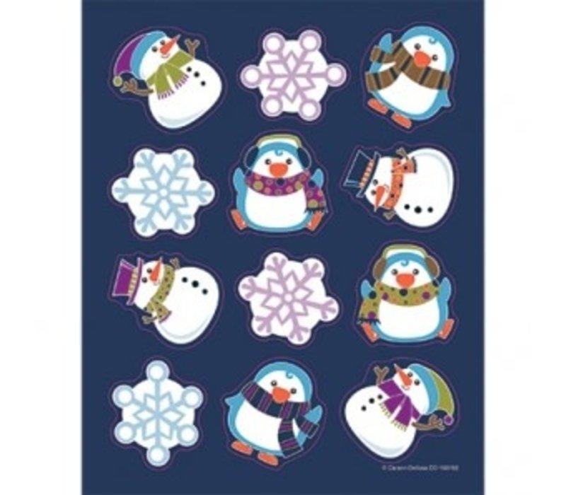 Winter Fun Shape Stickers *
