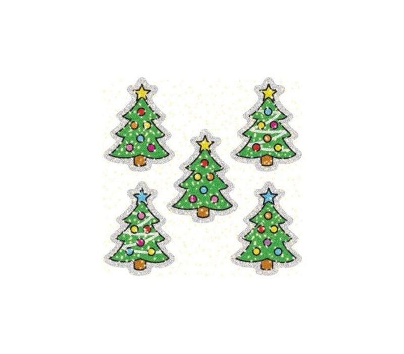 Christmas Trees Dazzle Stickers