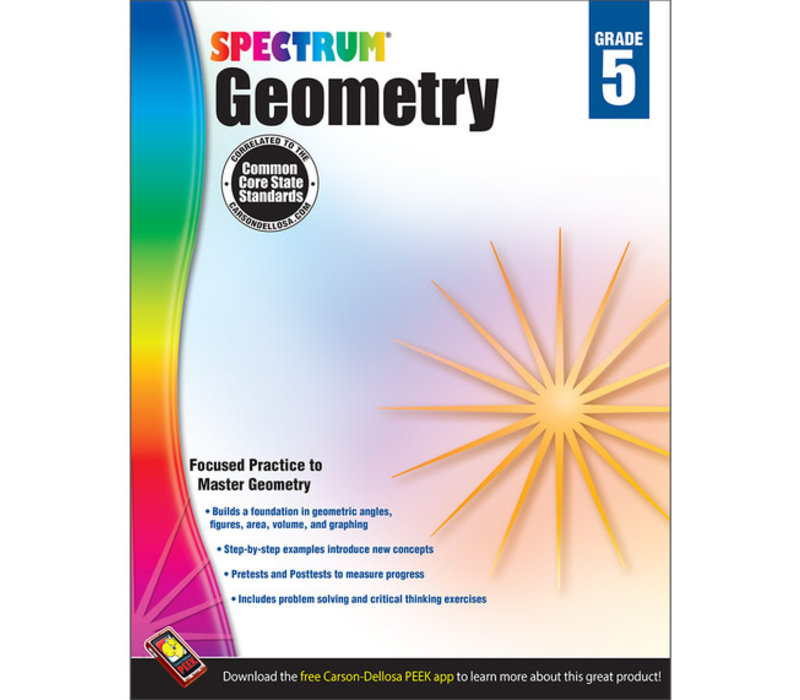 Geometry Workbook, Grade 5