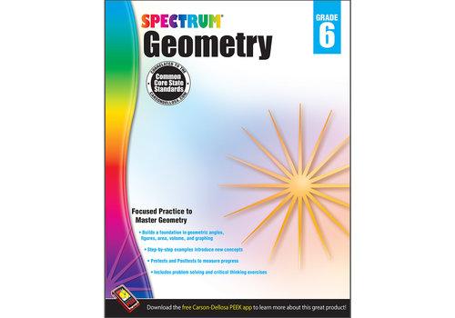 Carson Dellosa Geometry Workbook, Grade 6