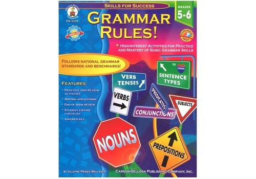 Carson Dellosa Grammar Rules! Gr 5-6