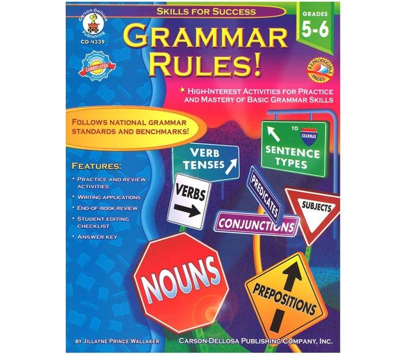 Grammar Rules! Gr 1-2