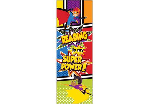 Carson Dellosa Reading is My Super Power!