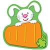 Carson Dellosa Bunny Carrot Notepad