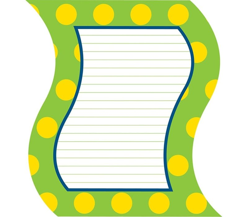 Lemon Lime Notepad