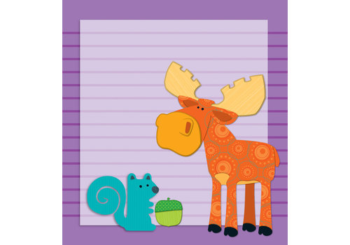 Carson Dellosa Moose & Friends Notepad