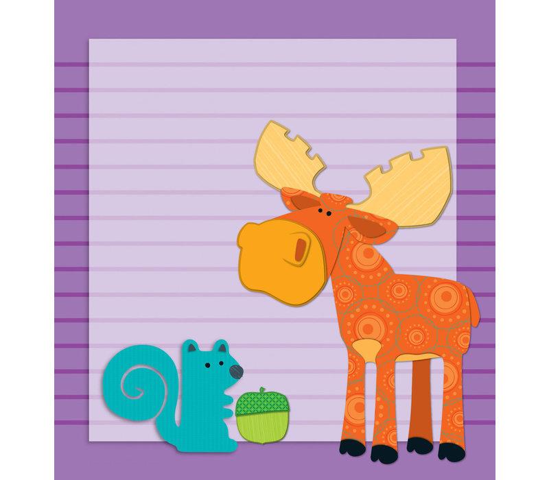 Moose & Friends Notepad * (D)