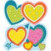 Carson Dellosa Hearts Accents