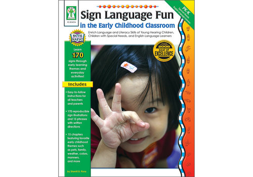 Carson Dellosa Sign Language Fun in The Early Childhood Classroom PK-K
