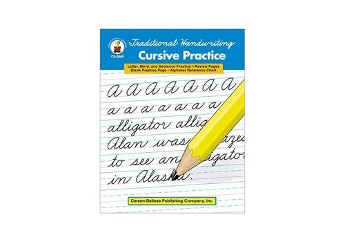 Carson Dellosa Traditional Handwriting: Cursive Practice, Grades 2 - 5