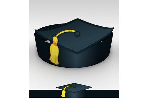 Carson Dellosa Graduation Crowns, 30 set