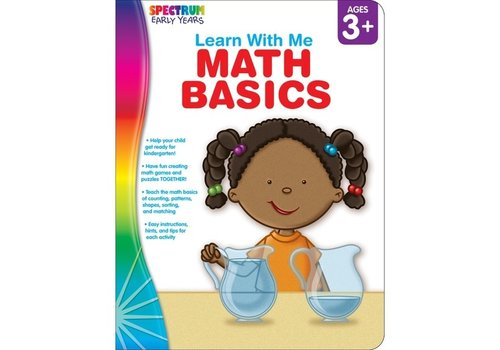 Carson Dellosa Math Basics, Ages 3 - 6