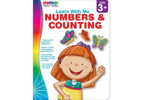 Carson Dellosa Numbers & Counting, Ages 3 - 6
