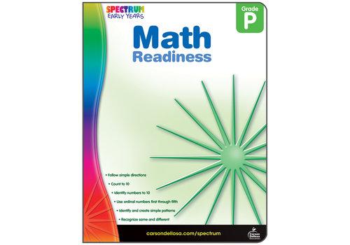 Carson Dellosa Math Readiness, Grade PK