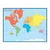 Carson Dellosa Map of the World Chart