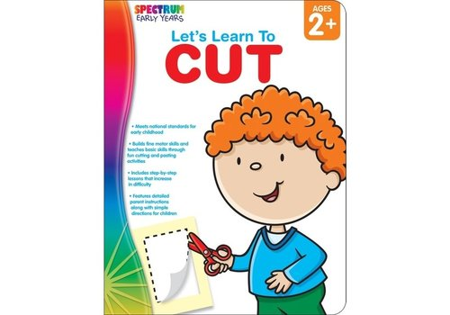 Carson Dellosa Let's Learn to Cut, Ages 2 - 5