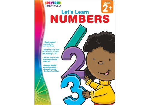Carson Dellosa Let's Learn Numbers