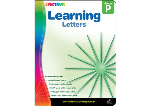 Carson Dellosa Learning Letters, Grade PK