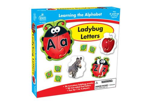 Carson Dellosa Ladybug Letters