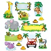 Carson Dellosa Jungle Safari Bulletin Board Set