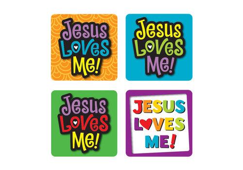 Carson Dellosa Jesus Loves Me! Sticker Pack