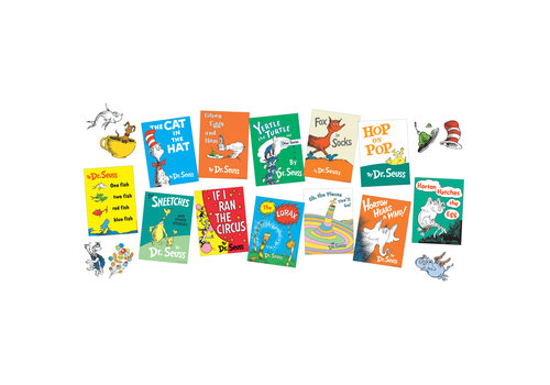 EUREKA Dr. Seuss Books Mini Bulletin Board Set