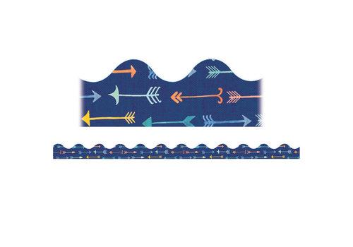 EUREKA Confetti Splash Pointed Arrow Scallop *