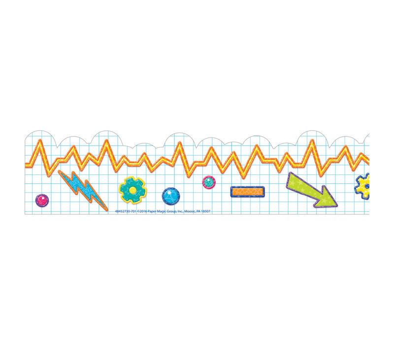 Color My World STEM Graph Deco Trim*