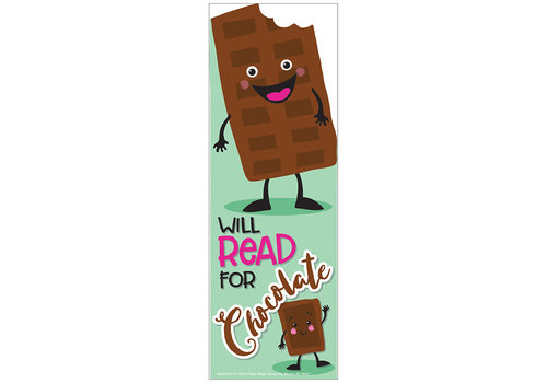 EUREKA Scented Bookmarks - Chocolate *