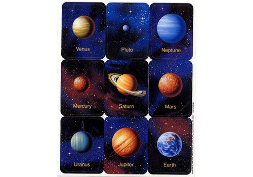 EUREKA Planets Stickers