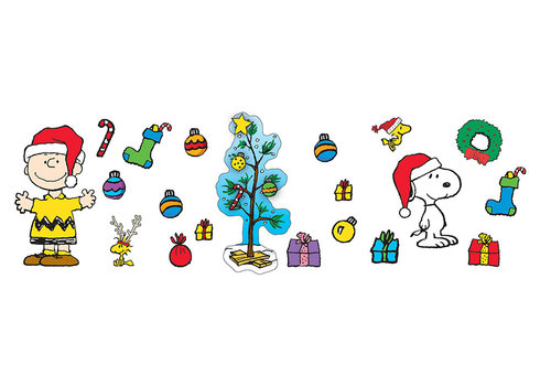 EUREKA A Charlie Brown Christmas Bulletin Board Set *